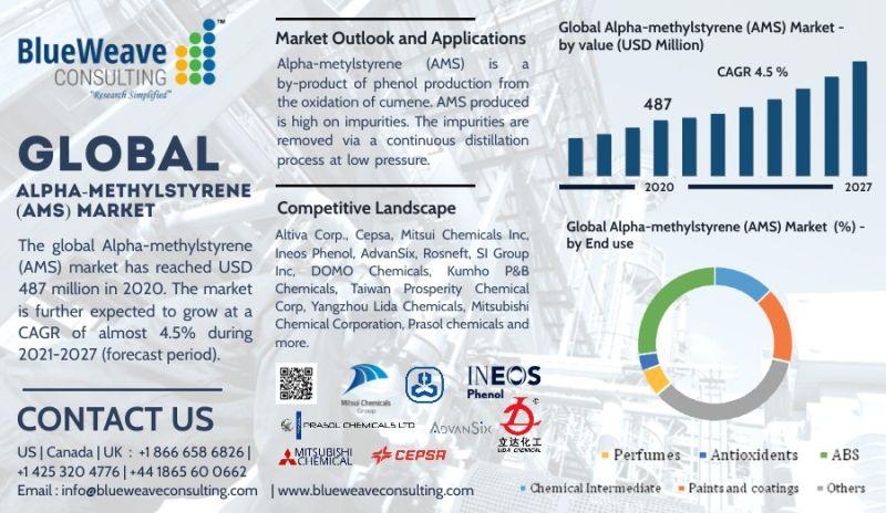 Global Alpha-methylstyrene (AMS) Market